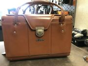 Vintage Nikon Brown Leather Camera Bag - Model Fb11