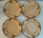 Franciscan China Dinnerware Cafe Royal Dinner Plates Usa Set Of 4 Preowned.