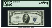 Low Serial Number 00000210 Fr. 1706 10 1953 Silver Certificate. Pcgs New 62ppq