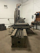 3andrdquo Horzontal Boring Mill W/ Rotary Table