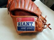 1980th Baseball Glove Giant Mint 11.75 Lefty Made In Korea