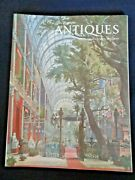 The Magazine Antiques Jan 1974 Louis Simond Chinese Snuff Bottles Crystal Palace