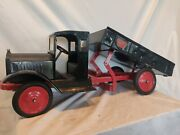 Vintage 1920's Keystone Toy Dump Truck Nice Resored Condition. Eco Shipping. Wow