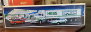 Hess Toy Truck 18 Wheeler And Racer 1992 Complete New In Box
