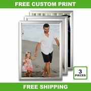 Snap Frame 34x47 3-pack We Custom Print For You Just Send Us You File Now