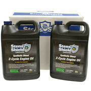 Case Of 4 Synthetic Blend 501 2-cycle Engine Oil Mix 1 Gallon Bottles