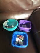 Hutzler Fruit Saver 3 In 1 Berry Containers Set Of 3 With Lids New