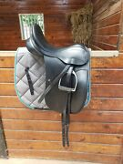 Beautiful County Competitor Dressage Saddle - 17 - M Spring Tree