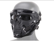Mask Airsoft Full Face Skull Tactical Paintball Skeleton Halloween Military Css