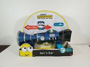 Despicable Me Minions The Rise Of Gru Fart 'n Fire Blaster Toy Gun New 2019