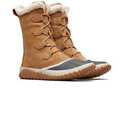 Sorel Womens Out N About Plus Tall Walking Boots - Brown Sports Outdoors Warm