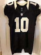 Brandin Cooks 2016 New Orleans Saints Game Issued Used Jersey Sz 44 Texans
