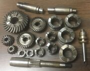 Mercury Mariner Boat Parts Lot - Clutch Dogs Gears Shafts 01