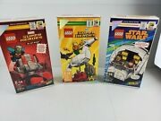 Sdcc 2018 Exclusice Lego Ant-man And The Wasp 75997 30, 75996 578, 75512 2552
