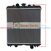 590mm Height Radiator 3a151-17100 For Kubota M6800 M8200 M8200dt M9000 M9000dt