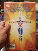 The New Captain Marvel 17 52 1st App Phyla-vell Nm To Mint