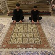 Clearance Yilong 5and039x8and039 Classic Wool Rug Four Season Design Handmade Carpet 2021