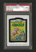 Wacky Packages Series 13 Crocked Magazine Psa 9 Mint Lowpop Only 3 Higher Psa 10