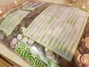 Sealed Bankers Bag Of 1000 In Unsearched Circulated Dimes. Real Money