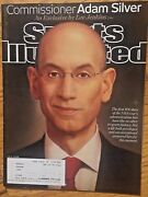 2014 Sports Illustrated Nba Commissioner Adam Silver Subscription Issue Freeship