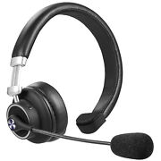 Wireless Headset With Mic For Zoom Skype Meeting Home Office Driver Clear Sound