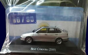 Seat Cordoba 2000 80/90and039s Unforgettable Cars 143 Diecast Salvat 35 Argentina