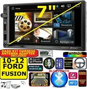 2010-12 Ford Fusion Bluetooth Usb Aux Car Radio Stereo Package