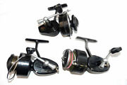 3 Garcia And Mitchell Vintage Spinning Reels, 300, Half Bail And 325 Models Job...
