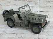 High Quality Metal Diecast Jeep Model Car Antique Toy Car For Collection Decor