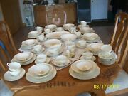 Rhythm By Homer Laughlin Golden Wheat 101 Pottery Vintage Pieces Of Dinnerware