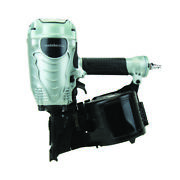 Metabo Hpt Nv90agsm Steel Head Plate Open Nose Coil Framing Nailer 3-1/2 In.