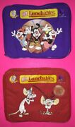 Animaniacs And Pinky And The Brain Lunchboxes / Lunch Bags 1997 Lunchables