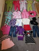 3t Toddler Girl Clothes Lot Winter Fall Spring Minnie Mouse Sweater Dress Frozen