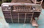 1941 Cadillac Chrome Radio Grille Dashboard No. 1441108 With Ash Tray Door