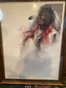 Ozz Franca Famed Brizillan Artist Signed And Numbered Print Rare