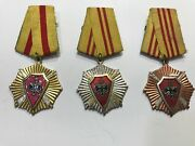 Albania Medal-order For Defense Of Socialist Fatherland Military Medal Very Rare