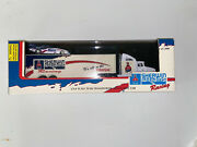 Sherwin Williams Team Transporter With Funny Car 1/74 Scale