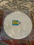 Seachoice Products Pry-up Deck Plate White 8andrdquo I.d. Andldquooandrdquo Ring Seal Model 39561