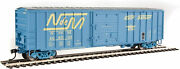 Gauge H0 - Walthers 50' Post Boxcar National Railways Of Mexico 1815 Neu