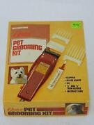 Oster Professional Pet Grooming Trimmers Electric Dog Hair Clippers 151-04a Box
