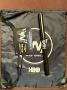 """Sdcc 2017 Hall H Hbo Westworld Swag Drawstring Bag And 20"""" X 13.5"""" Poster"""