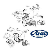 Ventilation Rear Higher Central Arai Center Top Duct Frost Black For C