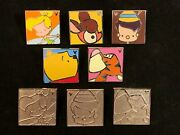 Disney Wdw 2013 Hidden Mickey 8 Sweet Character Pins Includes 3 Chaser Pins