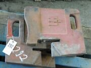 International Harvester Tractor 100 Lb. Suitcase Weights  Tag 292