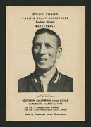 1948-49 Ucla Basketball Program Wooden Wins Pcc In First Year Only 1300 Attended