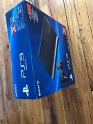 Sony Playstation 3 Super Slim 12gb Console Ps3 Black Brand New Factory Sealed