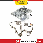 Timing Chain Kit Timing Cover Fit 02-07 Chevrolet Gmc Isuzu Hummer 3.5 4.2