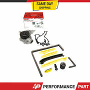 Timing Chain Kit Mercedes-benz Cl550 Clk550 E550 Gl450 S550 Water Pump Fit 05-15