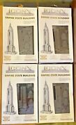 Lot Of 4 Iconx 3d Empire State Building Metal Model Kits - Fascinations
