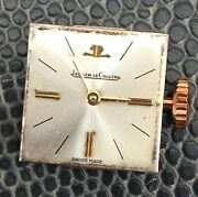 Jaeger Lecoultre Working Hand Manual 14,9x15,4 Mm Lady Swiss Watch Vintage